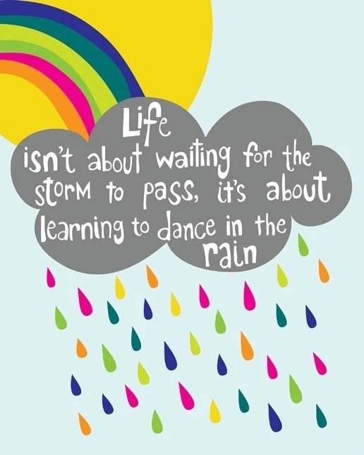 Dance in the Rain - 8x10