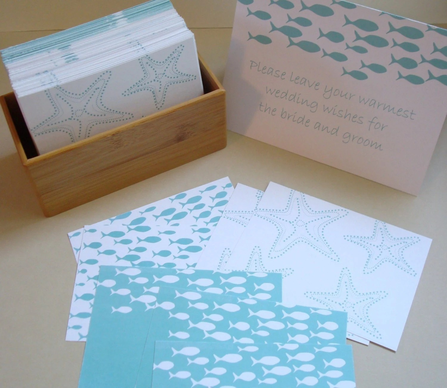 Guest Book - Note Cards with prompted messages - Set of 200