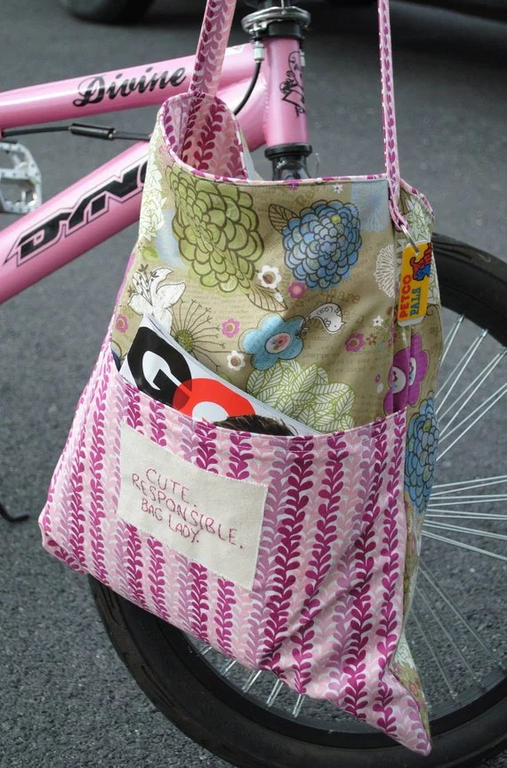Funky Errand Bag:Reduce, Reuse, Recycle