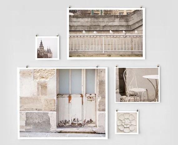 Paris Photo Collection - Mixed Sizes, White