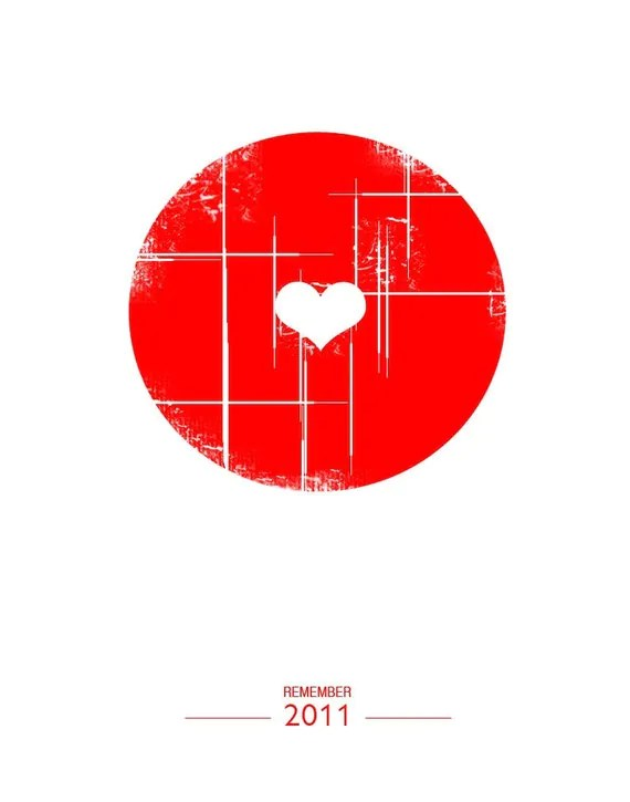 Remember - print (Japan Tsunami Relief)