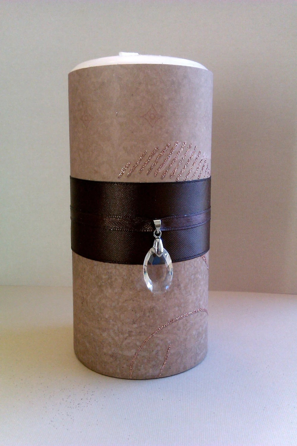 Vanilla Scented Pillar Candle 6 inch