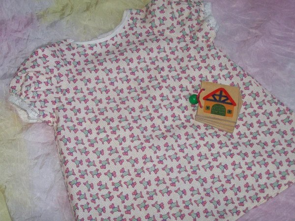 Scottie Dog Dress size 6-12 months