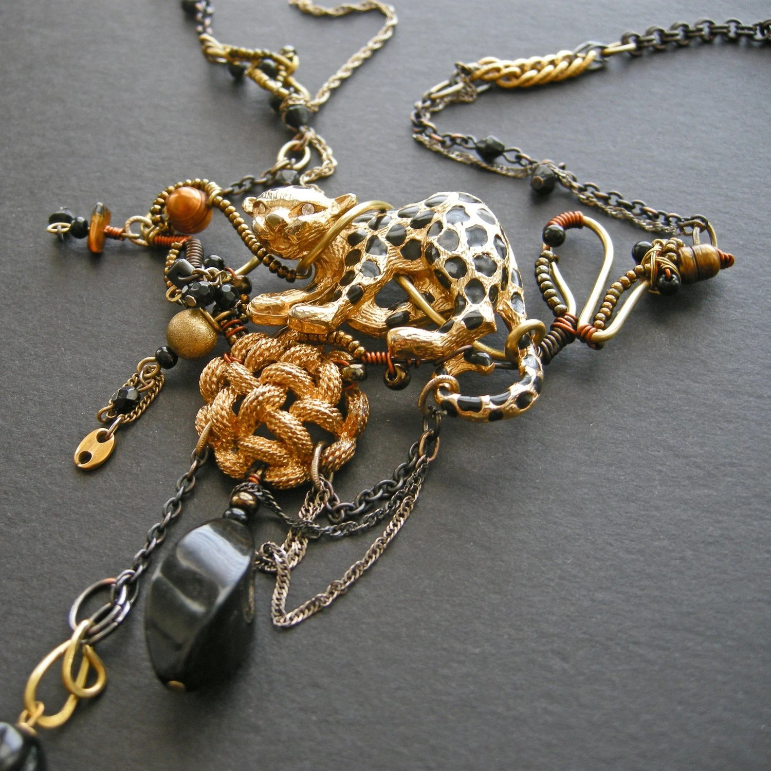 Domesticated Leopard Necklace