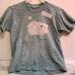 GOT WOOL youth med batik sheep t-shirt SALE