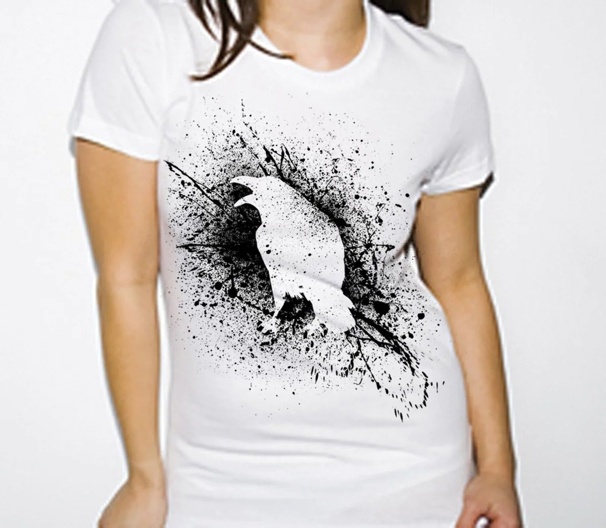 Raven Abstract T-shirt