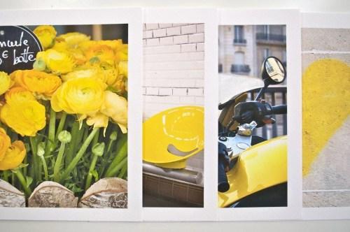 Paris Color Set, Yellow