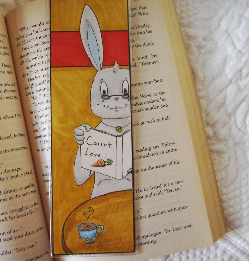 carrot book mark