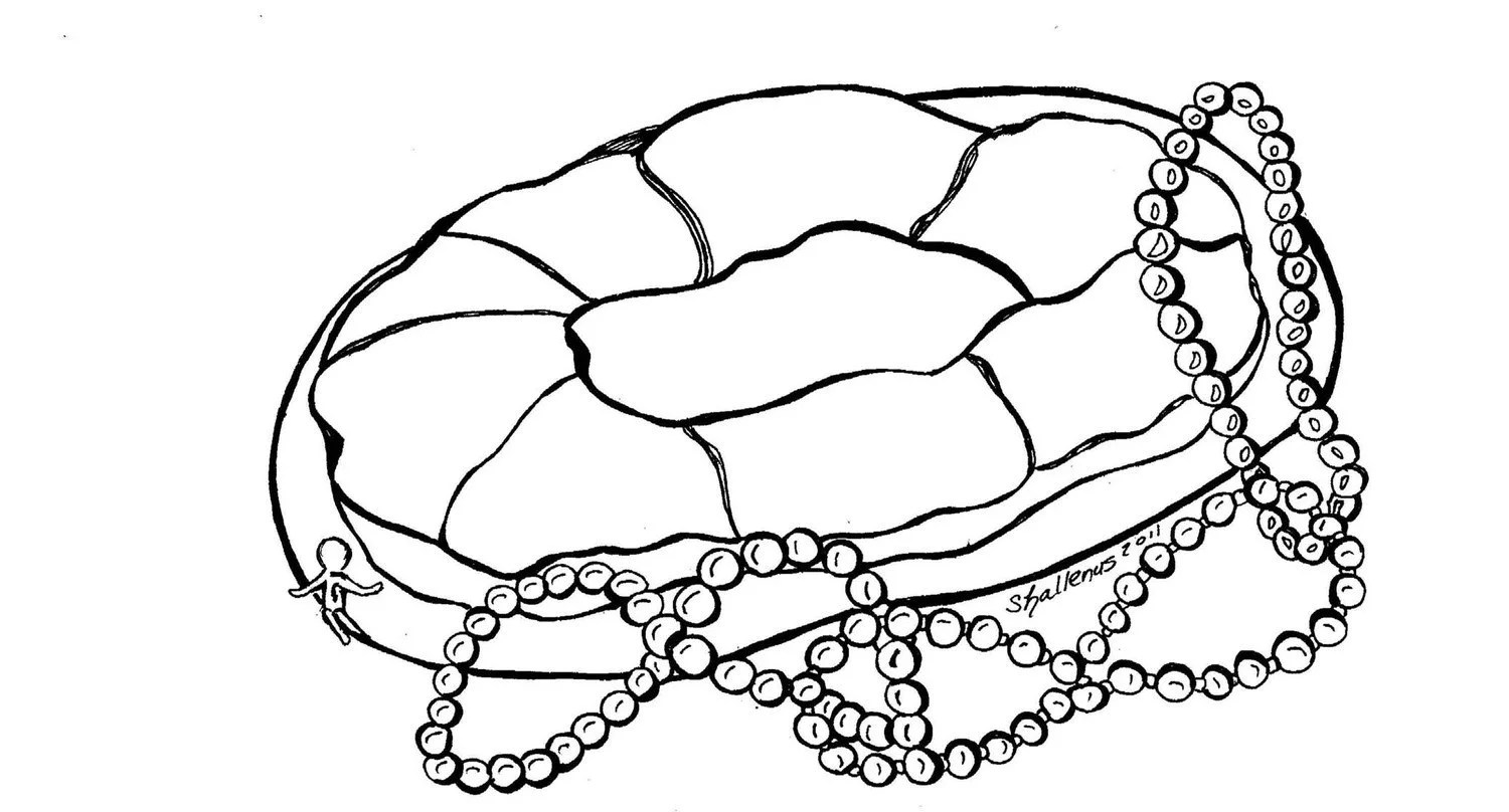 Coloring Pages Of King Cake