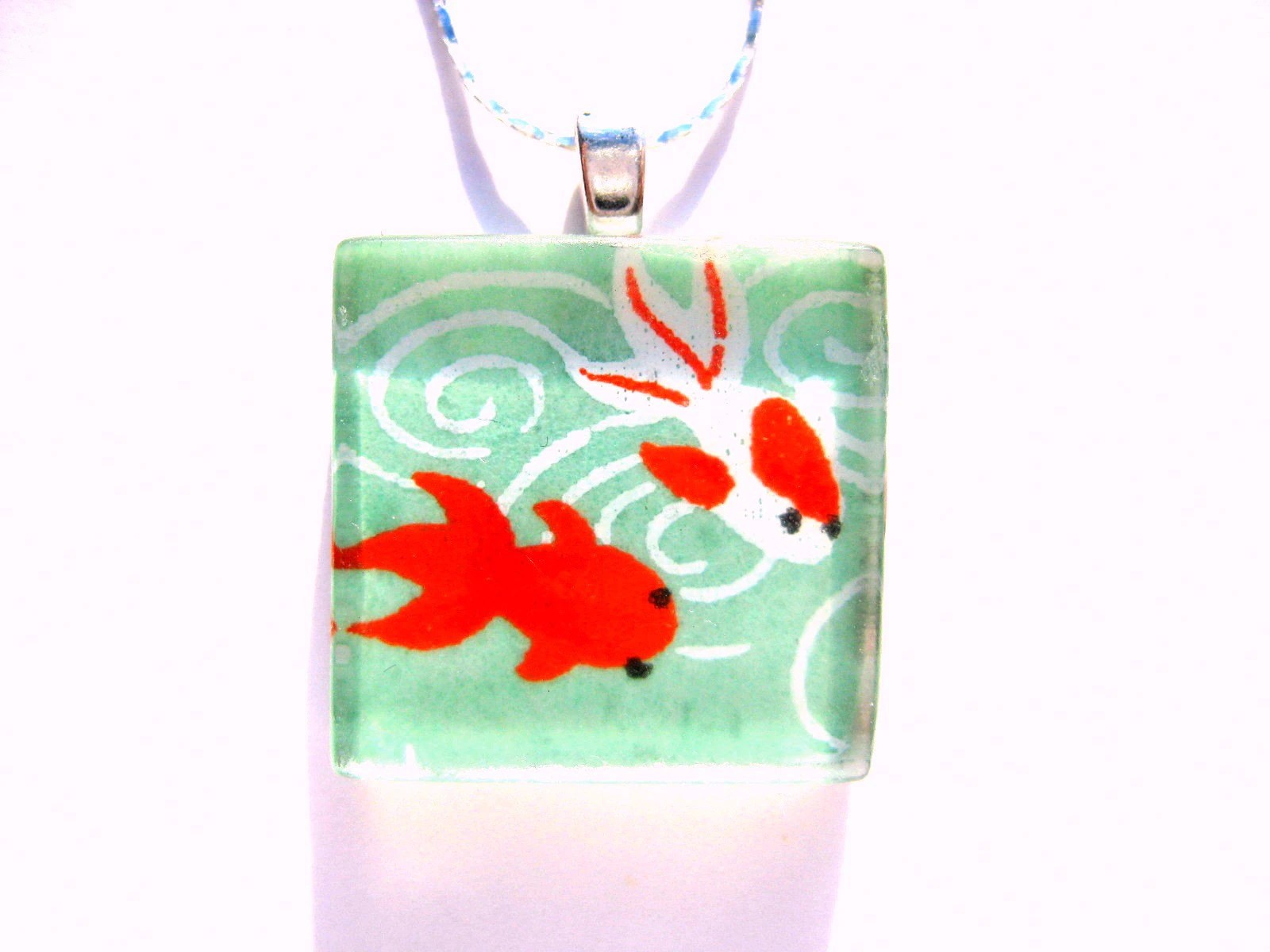 Lucky Fishpond Necklace - $15