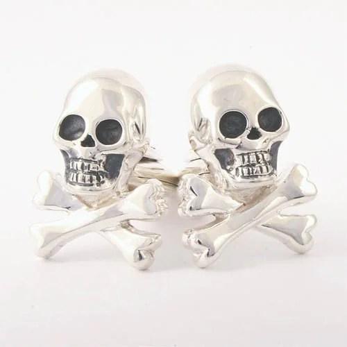 Skull & bones cufflinks