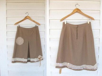 Vintage UpCycled Skirt