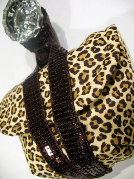 Leopard Sparkle Camera Wristlet by Megnificent Made