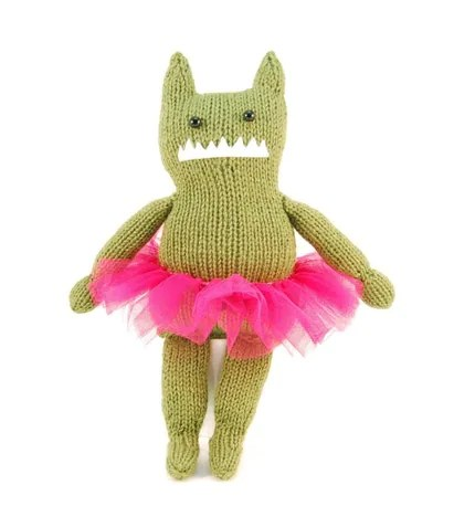 Olivia the Audacious Monster Knitting Pattern Pdf