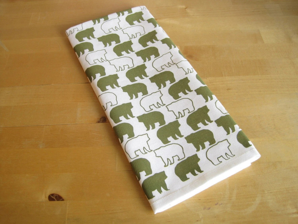 Set of 2 Bear Tea Towels