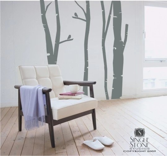 Birch Tree Decals