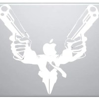 35 Most Creative Macbook Decal Designs