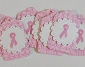 8  cancer awareness gift tags