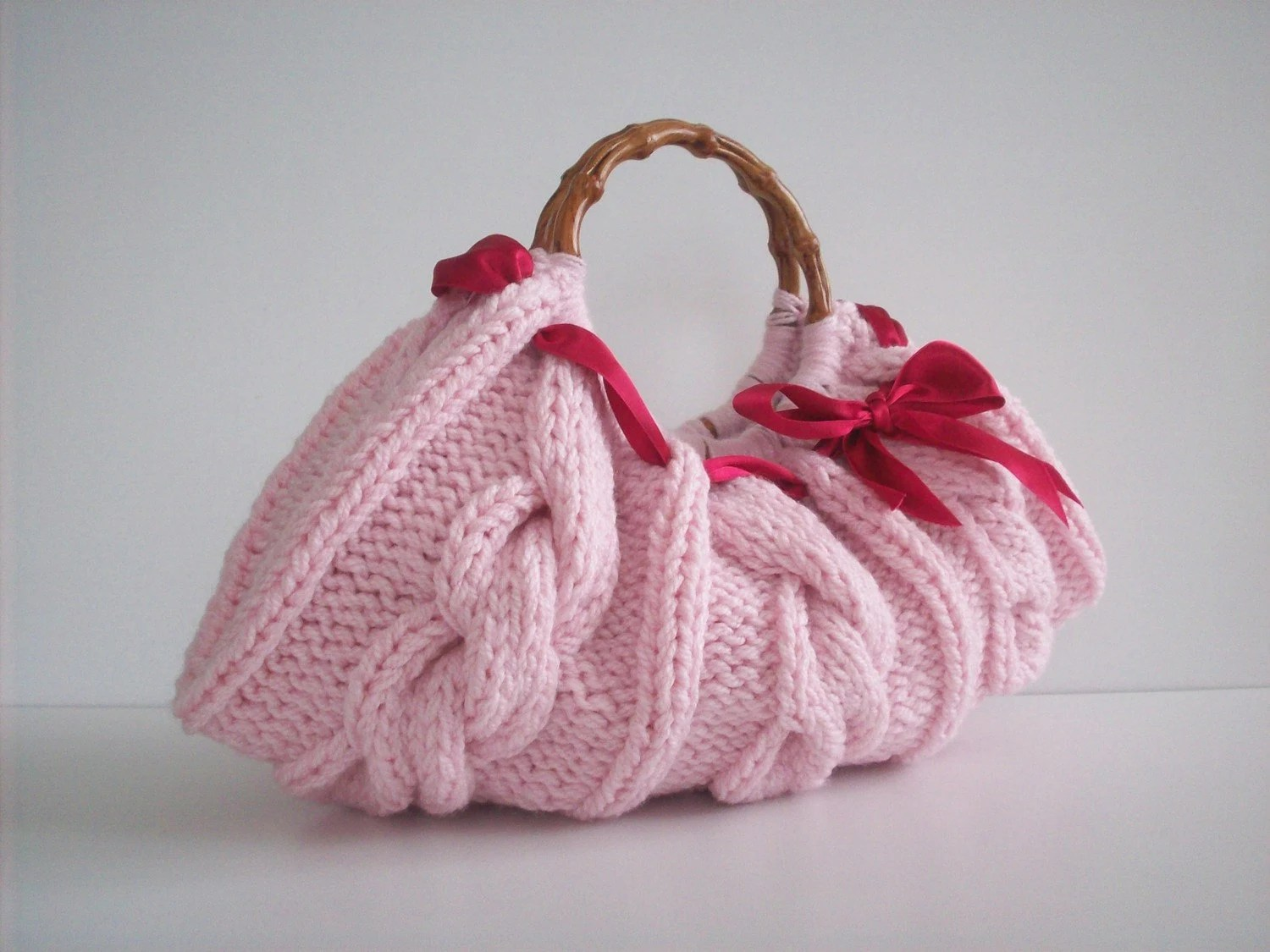 Beautiful Handmade Knitted Hanbag  Nr - 027