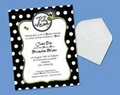Invitations - Bee Is For Baby - DIY Printable
