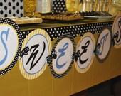 Custom Banner - Bee Is For Baby - DIY Printable