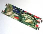 Hannah Rosner cuff bracelet bead pattern peyote stitch American