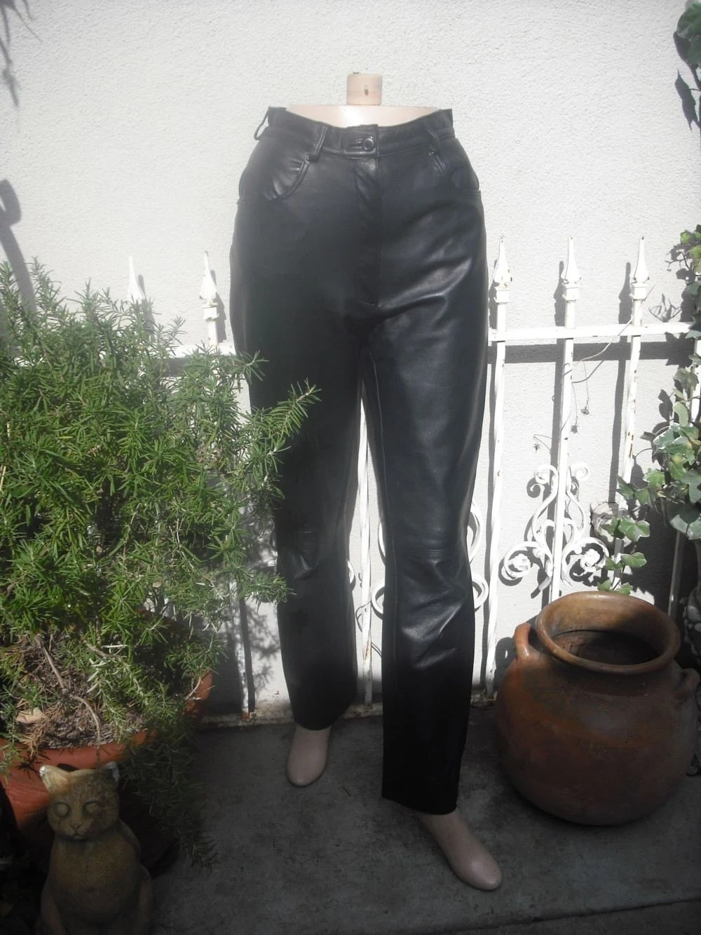 Leather Pants Made in Italy