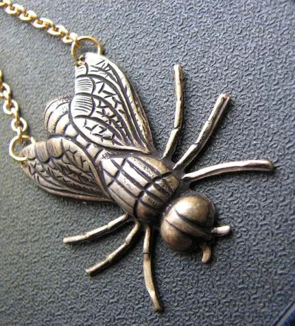 fly in the ointment necklace