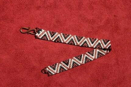 Beaded Bracelet-Peyote Zig Zag