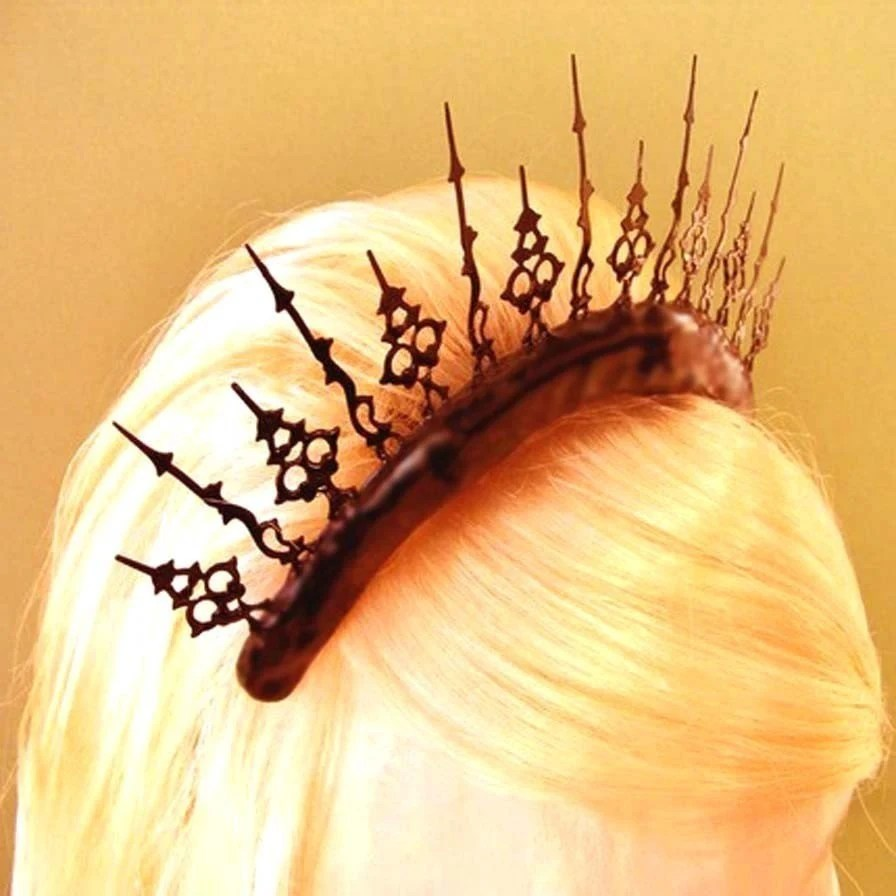 Gothic Tiara- A Stitch In Time of Neo Victorian Splendor