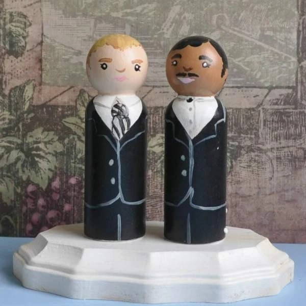 Same Sex  Wedding Cake Topper - Signature Series