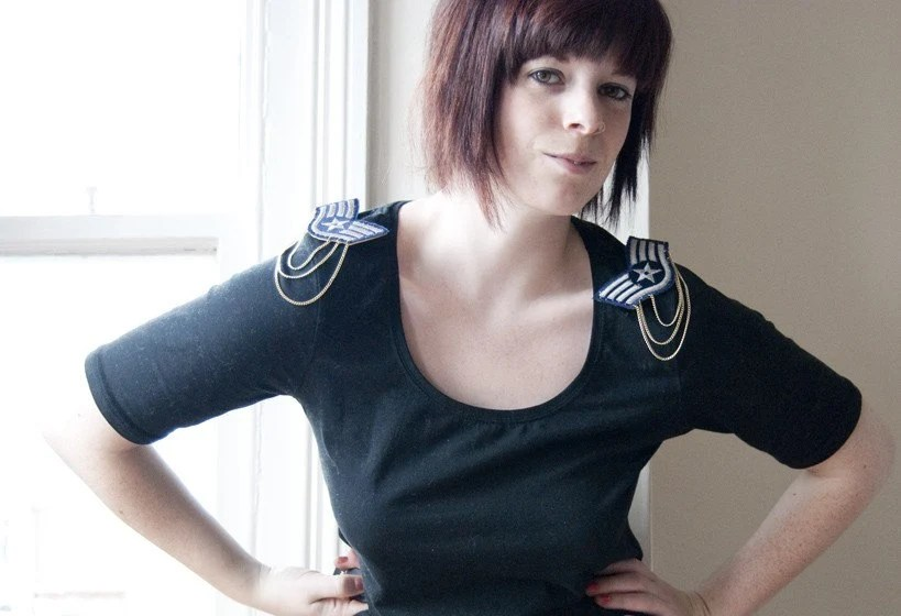Wing Commander - epaulette brooches