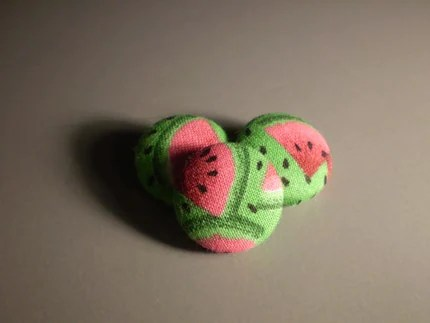 Watermelon buttons by sasscessories - $5.00