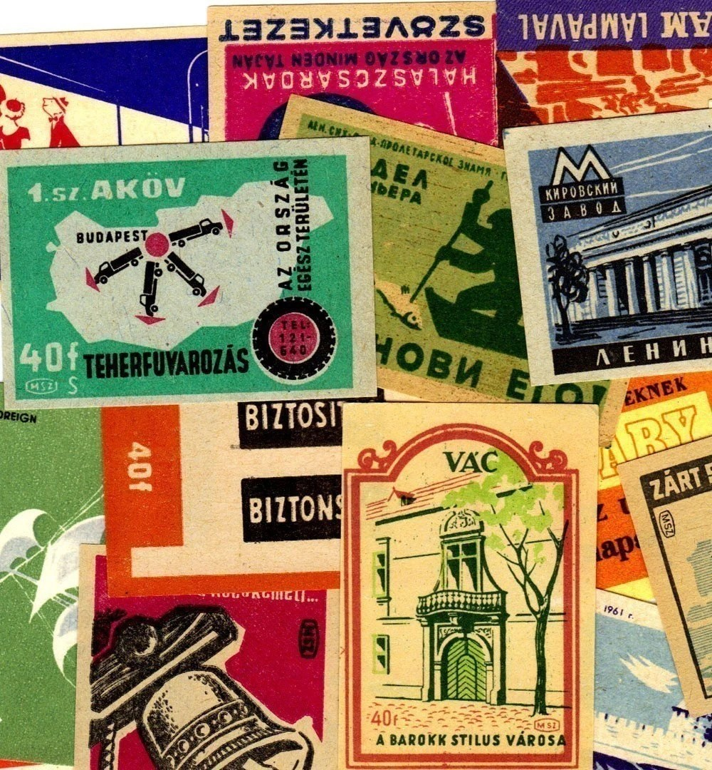 Vintage Matchbox Covers by ImagineArt7 - $3.50