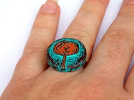 Tree Hugger Ring