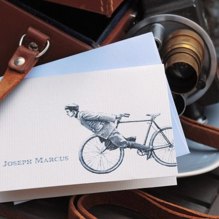 the estate of things chooses personalized cards