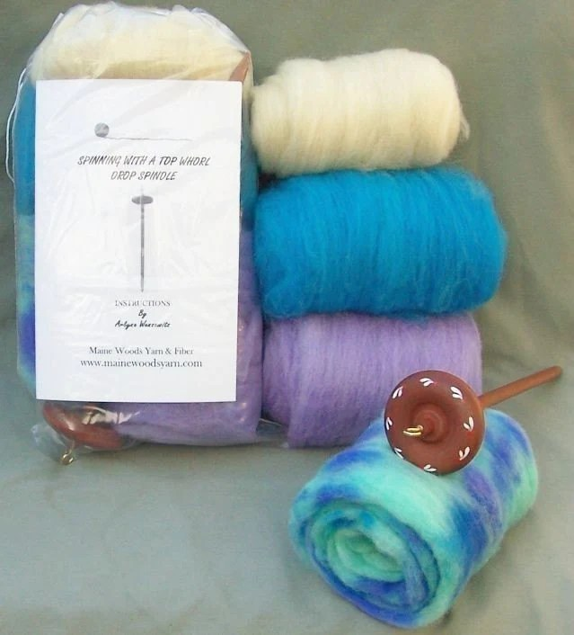 Maine Fiber Spindle Kit