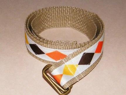 Fall Diamonds Belt