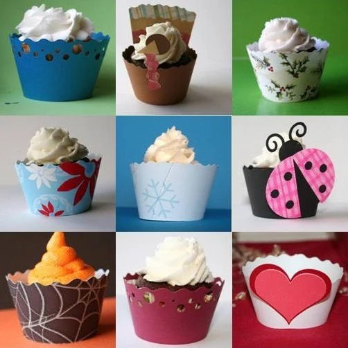 Cupcake Wrapper of the Month Club - 12 Month Membership
