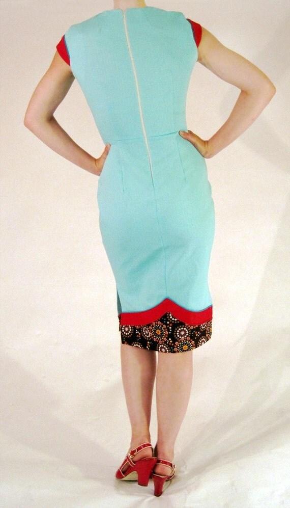 The Dale Dress - Aqua