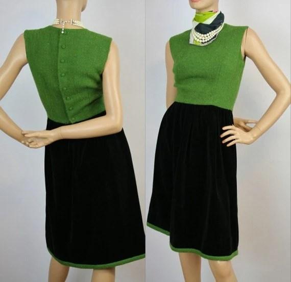 Salzburg Wool Velvet Dress