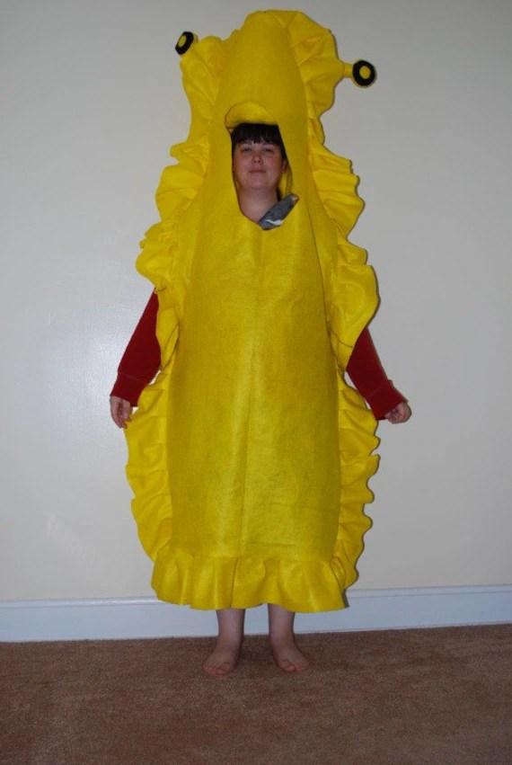 Banana Slug Adult Halloween Costume