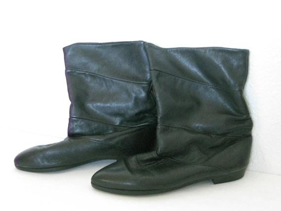 Vintage Black Boots 7M