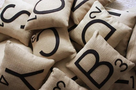 One Letter Pillow - Choose Your Letter
