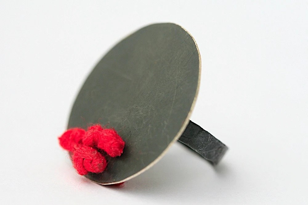 Red Silk Ring