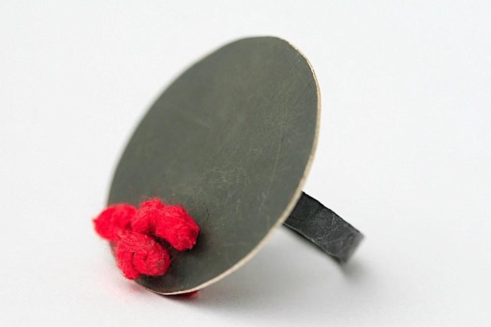 Red Silk Ring