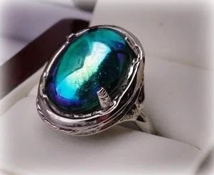 Reflections of Light- Gorgeous Multi Color Light Reflective Ring