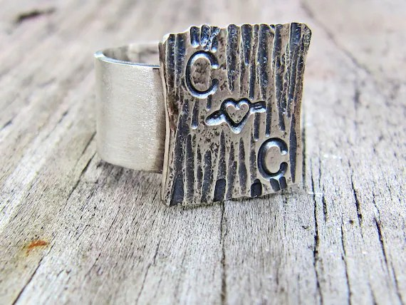 Roots Jewelry SS Personalized Ring