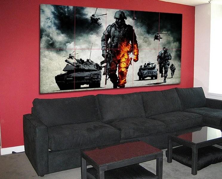 Battlefield: Bad Company Large Posters Wall Art Print (P-0051)