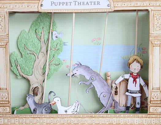 Peter and the Wolf Puppet Theater PDF Download
